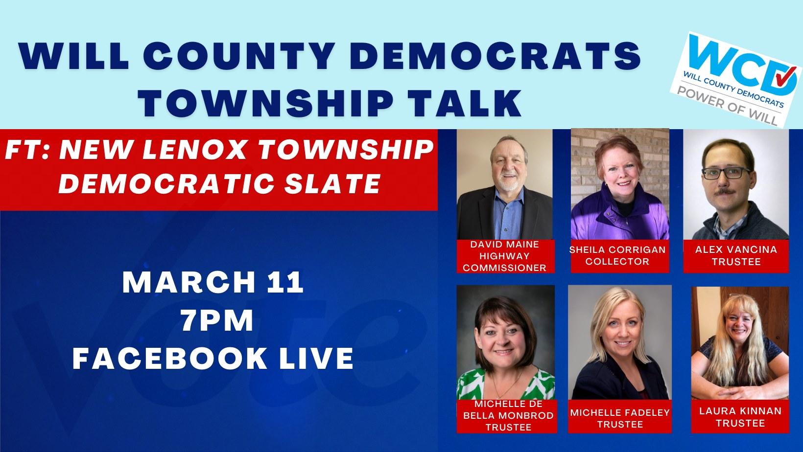 Township Talk banner
